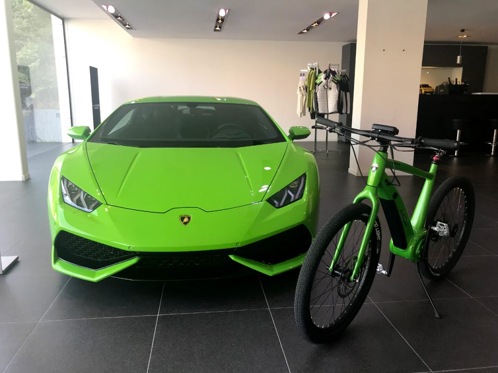 E Bike Automobili Lamborghini In France Ital Ebike By Italtechnology