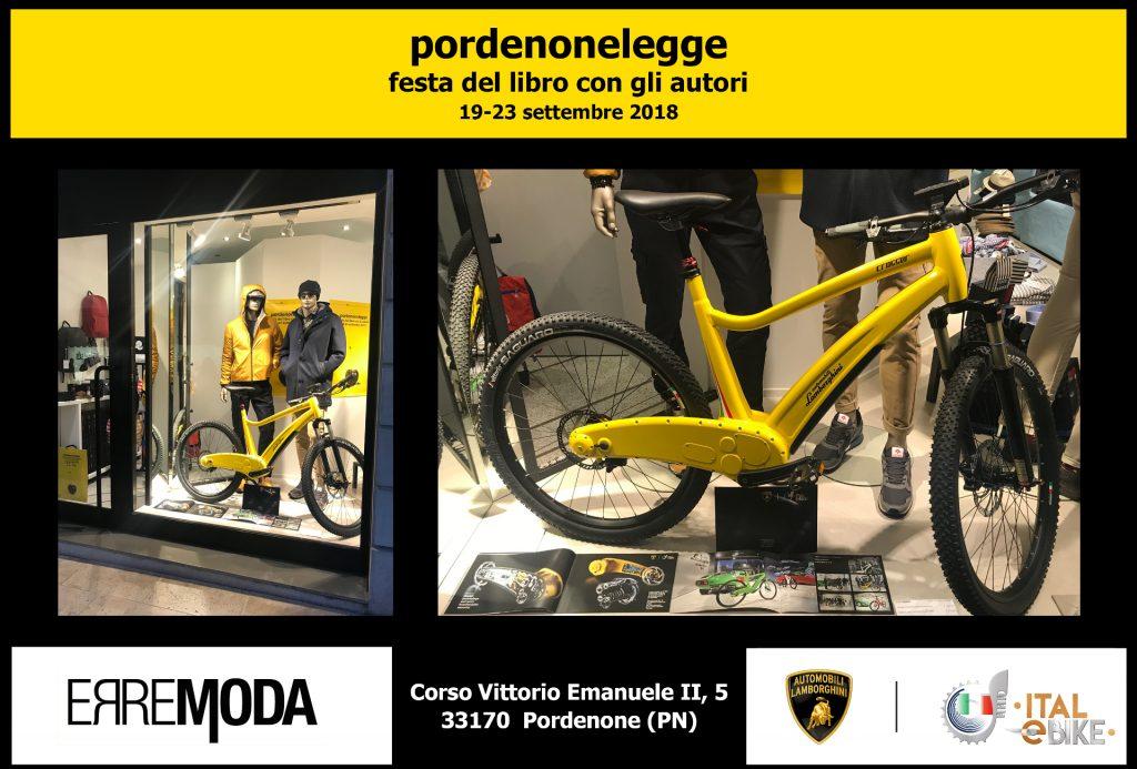 E Bike Automobili Lamborghini At Pordenonelegge Ital Ebike By